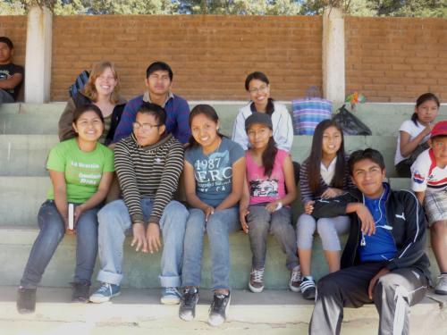 Jovenes (college students) from church