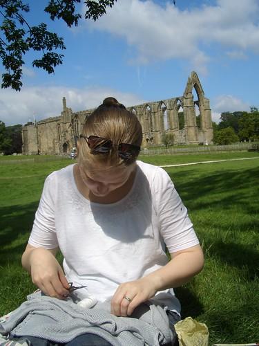 Me working in the sun