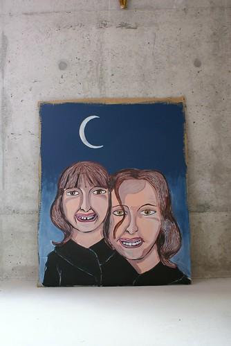 Retrato sob um ceu de Magritte / Portrait Under a Magritte sky