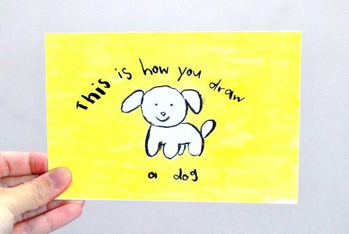 Gewwybeans dog draw