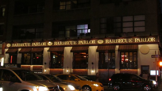 Neely's Barbeque Parlor, NYC.