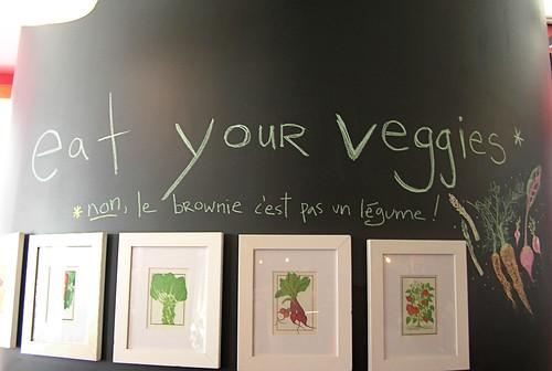 O + G veggie wall