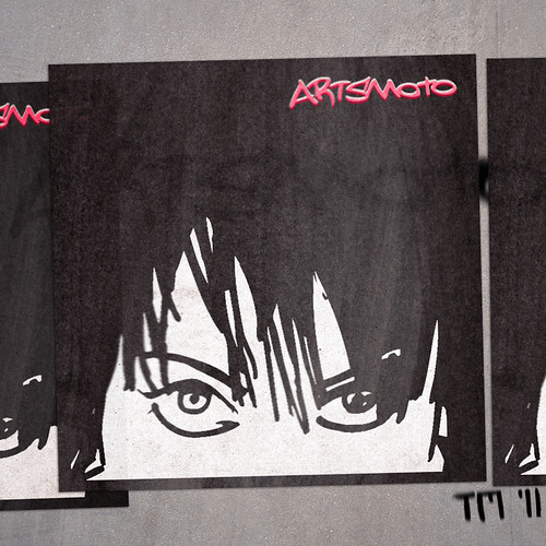 Artsmoto Joan-Sticker