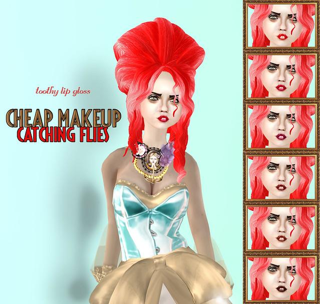Cheap Makeup-Catching Flies Lipgloss!