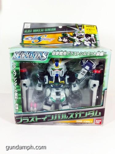 Gundam DformationS Blast Impulse Figure Review (1)