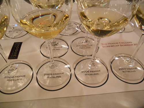 Hogue Riesling Vertical