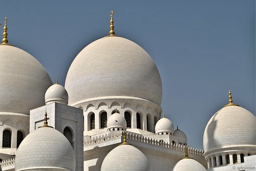 The Minarets of Sheik Zayed Mosque Sylvianism Photo Album