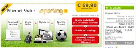 Telenet sporting shake