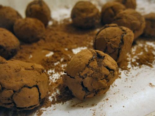 Water ganache truffles