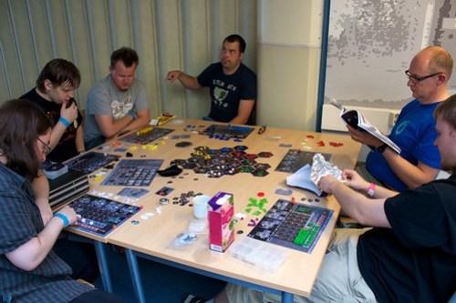 Eclipse demo at Ropecon 2011