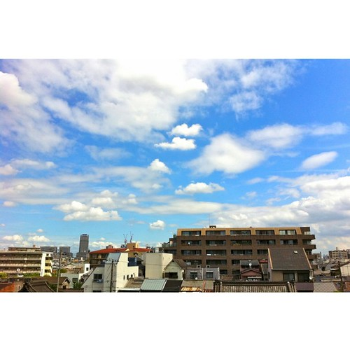 おはようの空。  #ohayo #iphonography #instagram