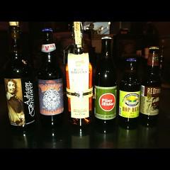 Tonight's Beer & Bourbon haul...happy international beer day Y'all!
