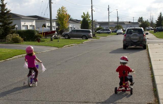 Kids on Bikes
