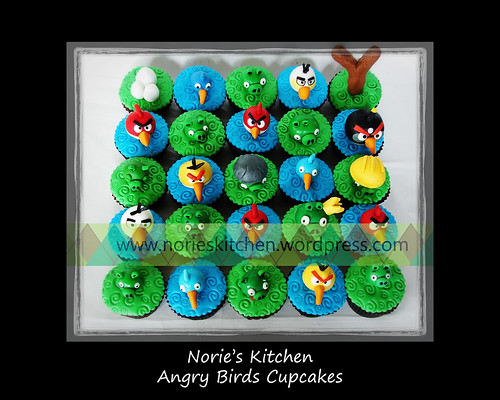 Norie's Kitchen - Angry Birds Cupcakes