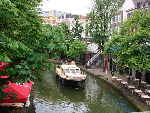 Sailing Up The Oudegracht