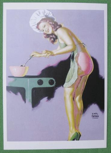 WW2 Baking Girl