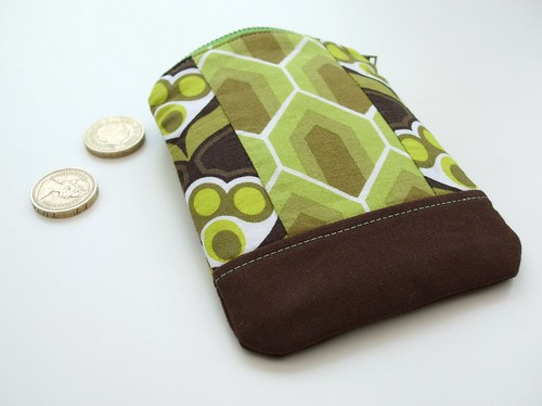 Vintage greens coin purse