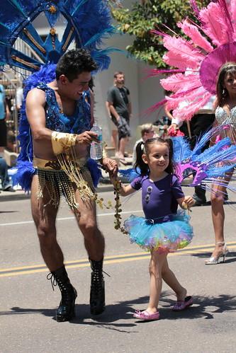 San Diego Gay Pride Parade, 2011 by InkSpot's Blot