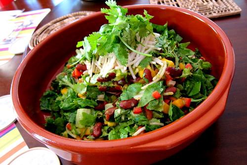 Mambo kidney bean chopped salad