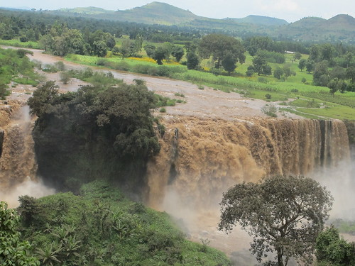 Blue Nile falls, Nile Basin Development Challenges (NBDC) site.