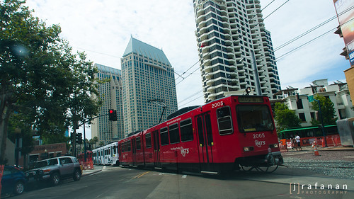 SDCC Red Train