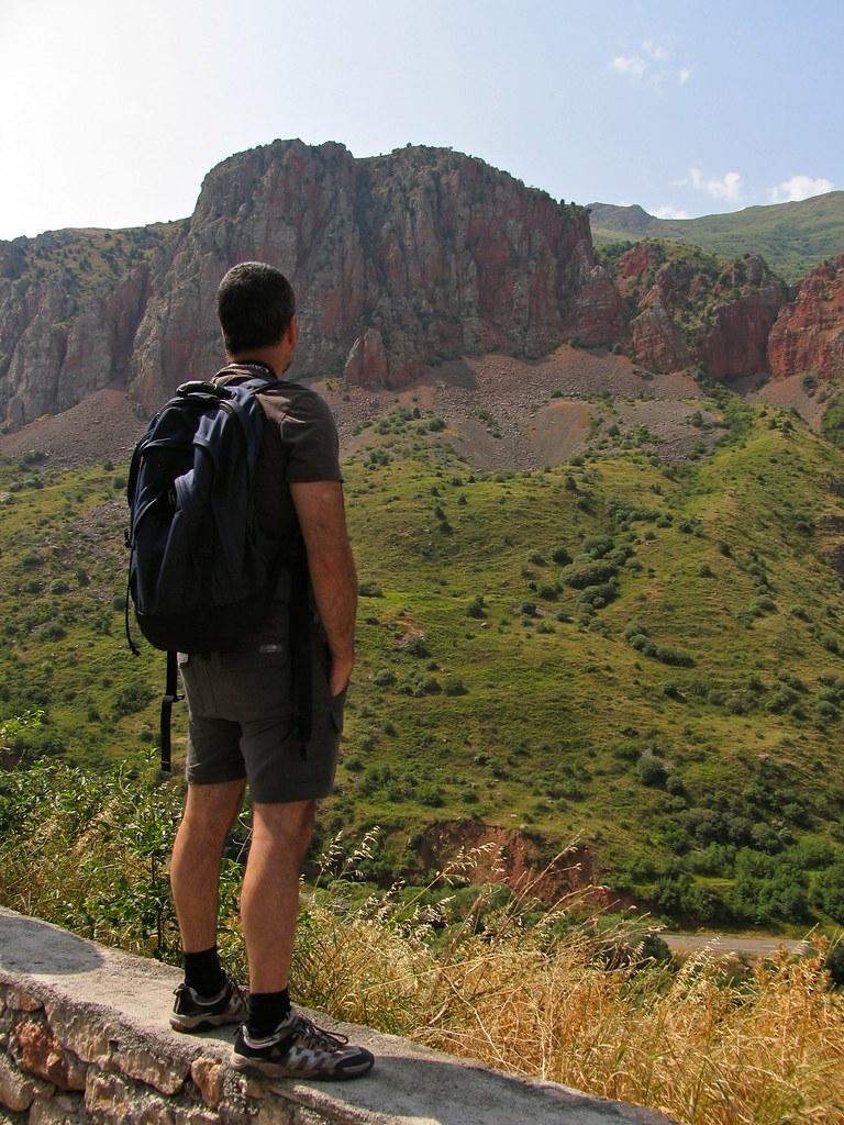 Gorge d'Areni devant Noravank, Arménie