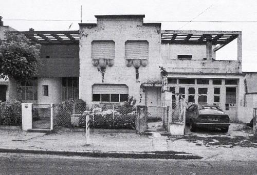 residência projetada por le corbusier, pessac, frança