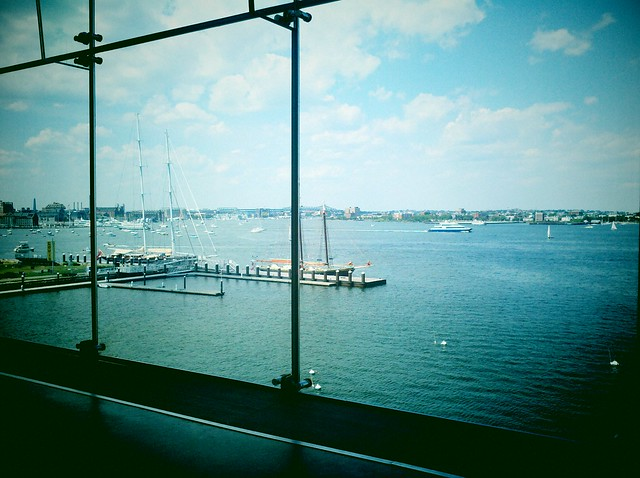 Boston Harbor, from the ICA