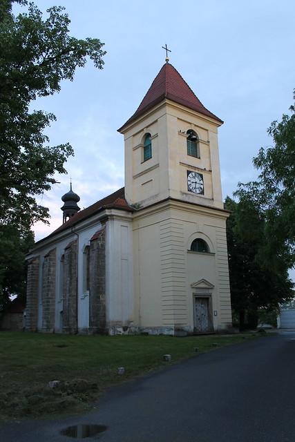 Church, Lužec nad Vltavou