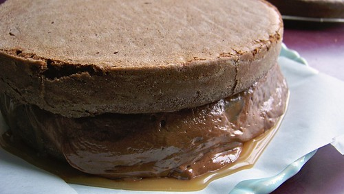 Sweet & Salty Cake