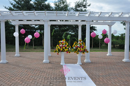 Wedding Ceremony at Rose Hill Manor in Leesburg, Virginia