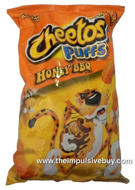 Cheetos Puffs Honey BBQ