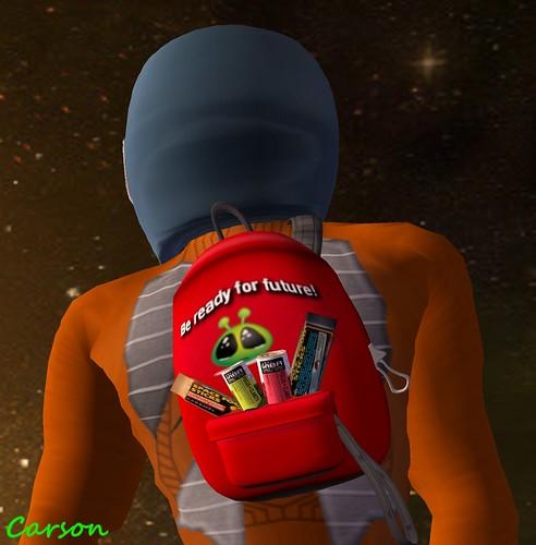 Aphrodite Shop - Ready For Space Bag