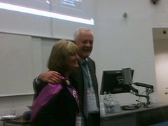 Chris Procter and Debra Leighton