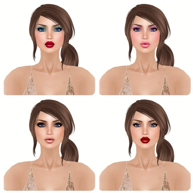 -Glam Affair- Amelie - Natural - 05 06 07 08