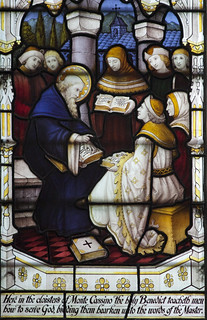 St Benedict teaching