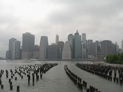 Manhattan, from Brooklyn - foto: halighalie, flickr