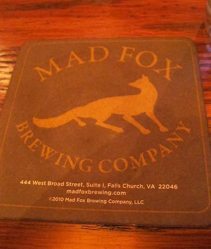 Mad Fox Coaster