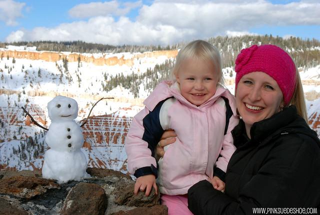 cedar breaks snowman