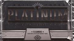 2011 Topps Platinum pack