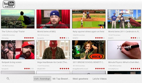 Playbook YouTube App