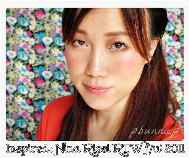 Makeup Tutorial--Nina Ricci inspired FW2011
