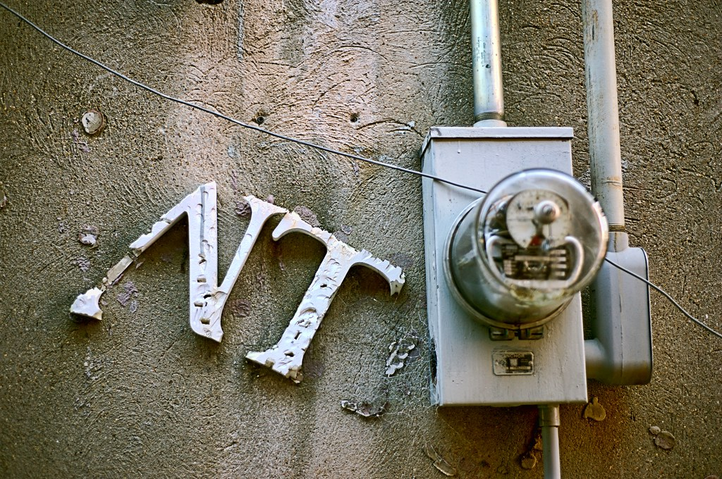 Meter in the Alley No. 1