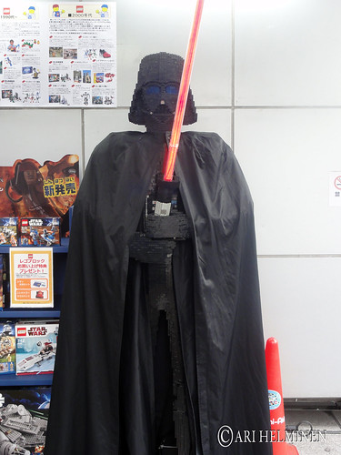 Lego Darth vader at Akihabara