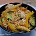 bocconcini di pollo con verdure