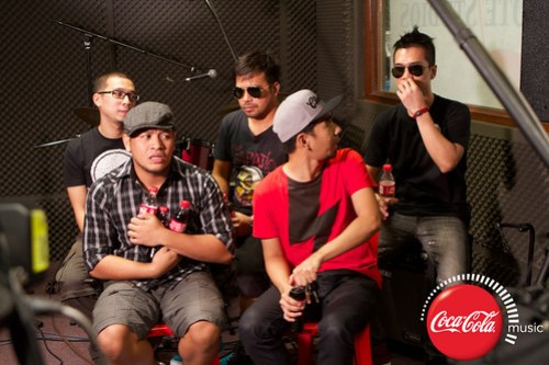 Rocksteddy and Quest at Coke Music Studio - 1