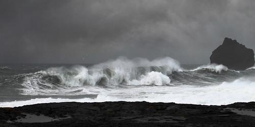 Seascape by Sverrir Thorolfsson