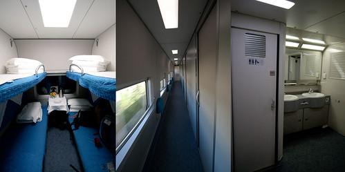 Tren Beijing - Shanghai