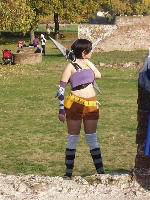 Yuffie cosplay
