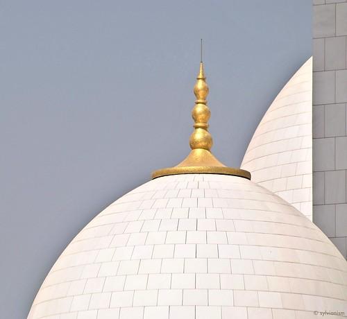 Minaret of Sheik Zayed Mosque